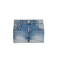 Short denim lavado medio