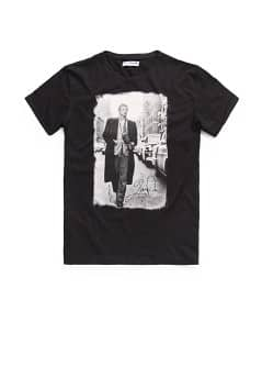 Camiseta estampada James Dean