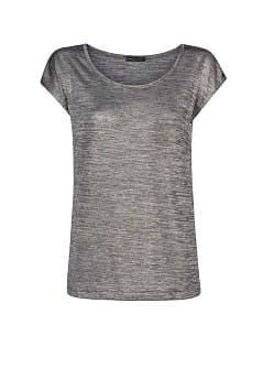 Pocket metallic t-shirt