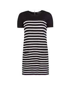Straight-fit striped dress