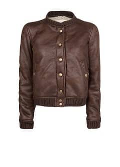 Veste bomber double face