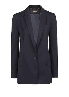 Textured suit blazer