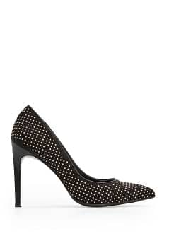 Studded stiletto shoes