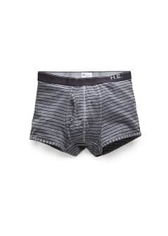 Logo striped cotton boxer briefs