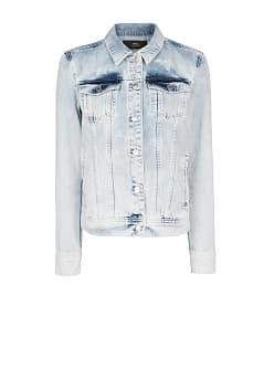 Veste denim aigle clouté