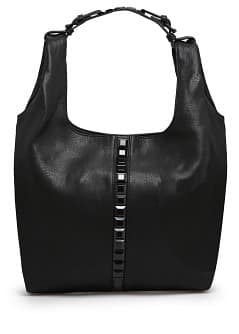 Maxi-stud hobo bag