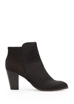 Combi leather ankle boots