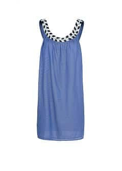 LOOSE-FIT BEADED DRESS
