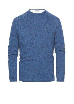 Flecked wool-blend sweater