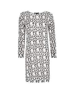 Animal print knit dress