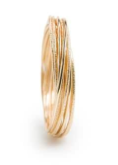 Set of linked bangles