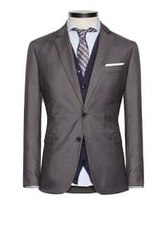 Veste de costume straight-fit