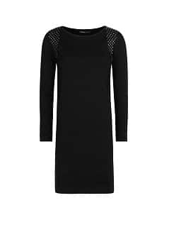 Studded knitted dress