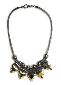 METAL PIECES NECKLACE