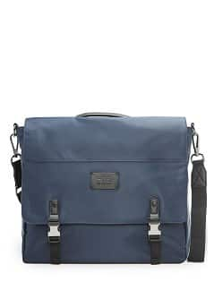 Bolso satchel nylon