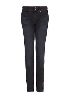 Slim-fit black Lizzy jeans