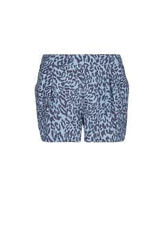 SHORTS FLUIDOS ESTAMPADO LEOPARDO