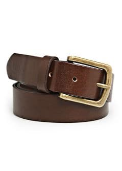 METAL BUCKLE LEATHER BELT