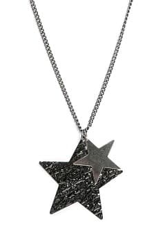 Star pendant long necklace