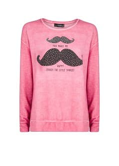 Sweat-shirt motifs strass
