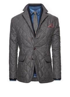 Herringbone husky jacket