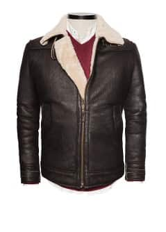 Shearling leather Premium jacket