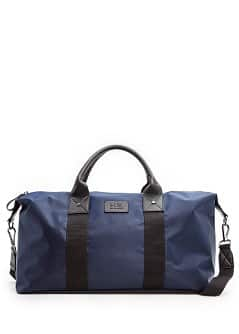 Nylon weekend bag