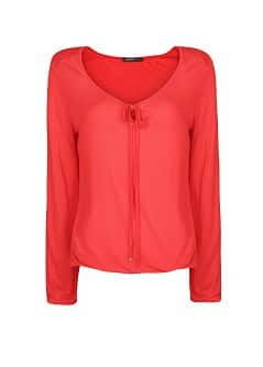 Bow long sleeve shirt