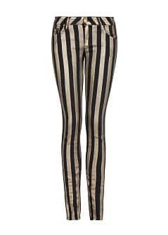 Super slim-fit striped Eclat jeans