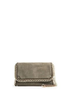 ANIMAL TEXTURE SHOULDER BAG