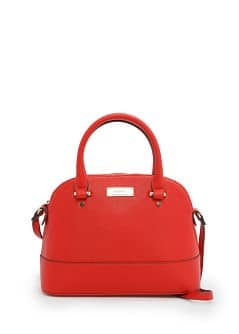 Saffiano effect tote bag