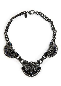 Hinged crystal choker