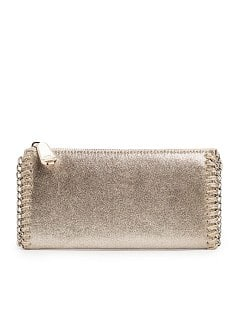 Chain metallic wallet