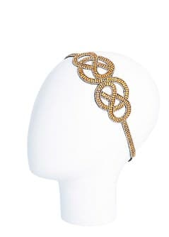 Embellished elastic hairband