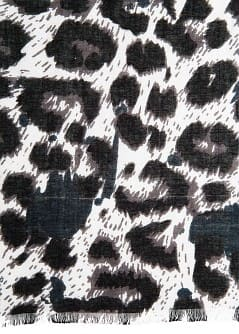 TUCH MIT ANIMAL-PRINT
