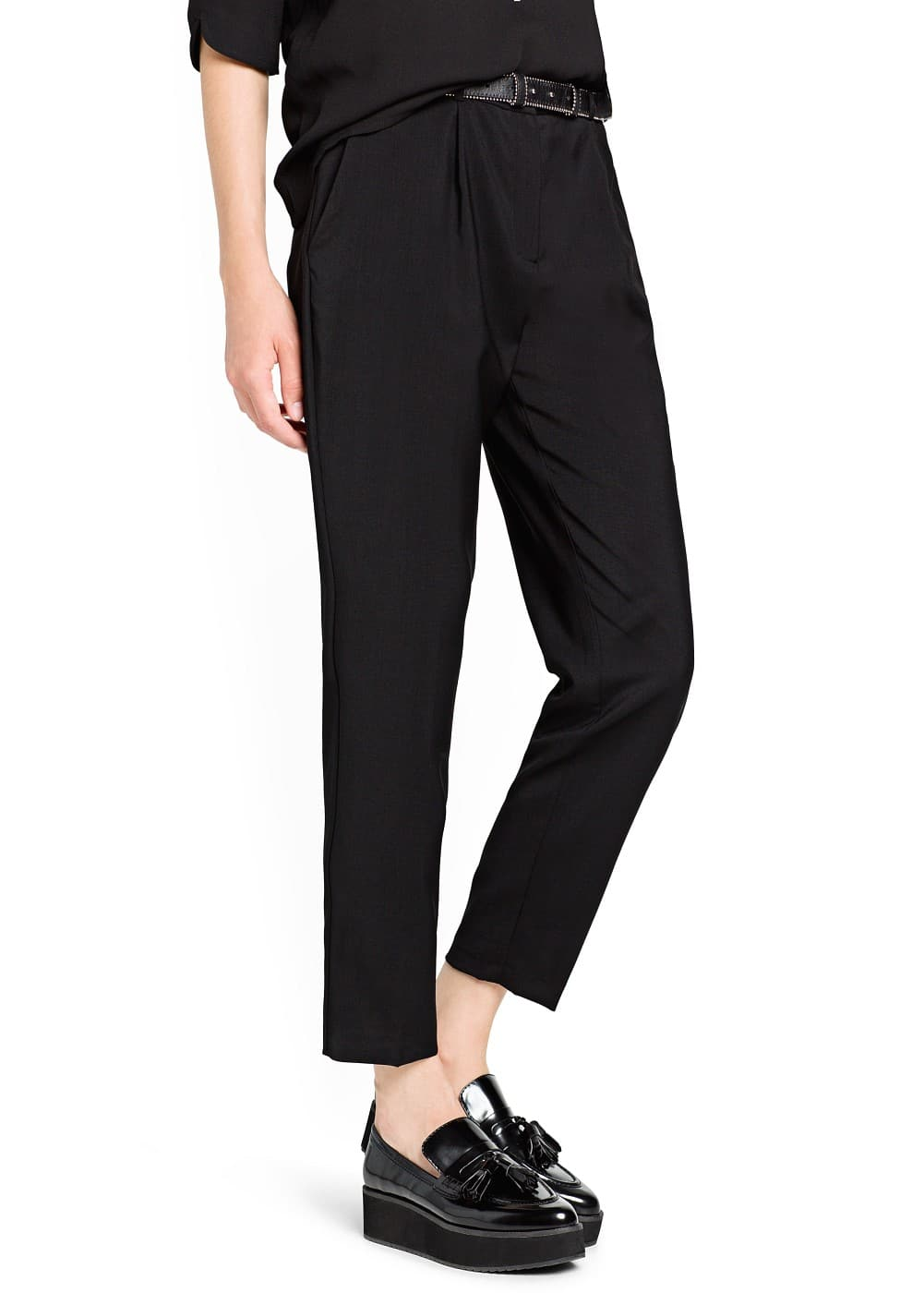 Wool suit trousers | MANGO