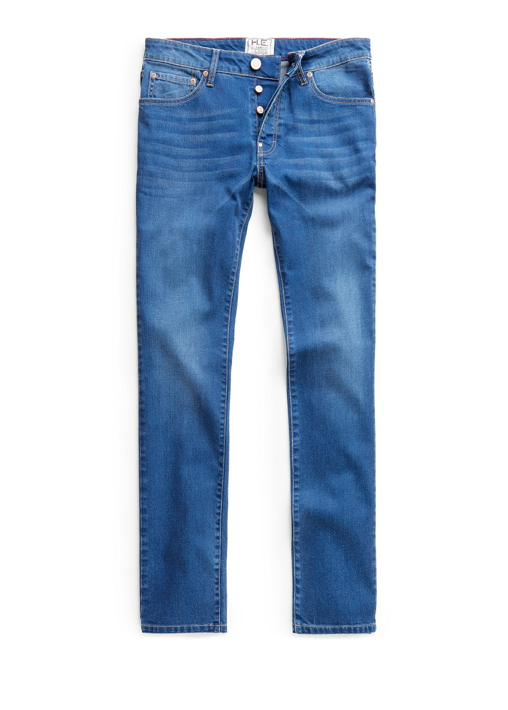 Slim-fit ink color tim jeans | MANGO MAN
