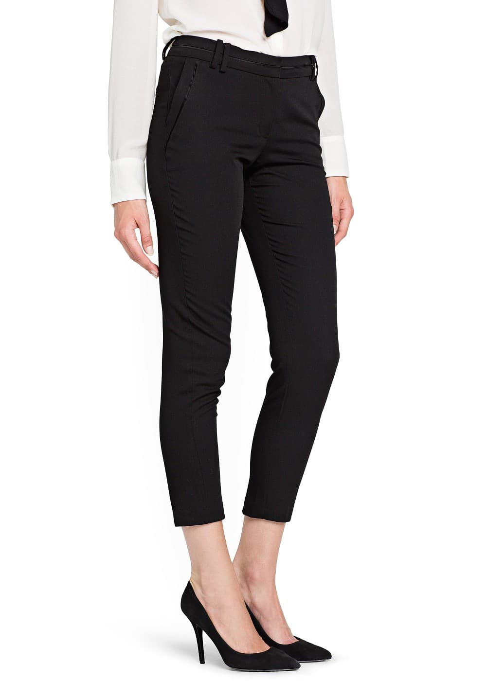 Slim-fit suit trousers | MANGO