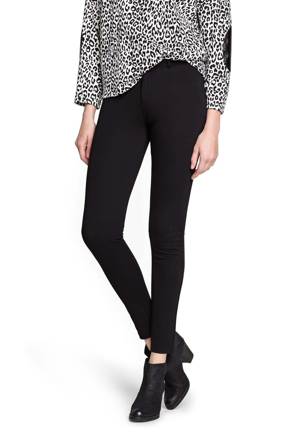 Super-slim stretch trousers
