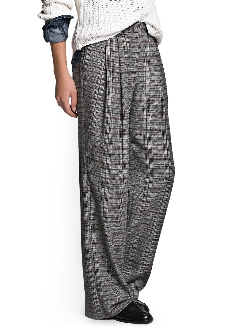 Prince of Wales palazzo trousers