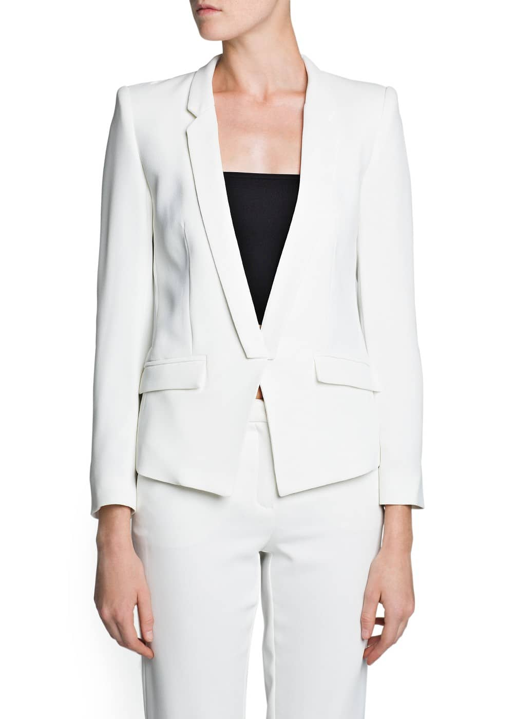 Tailored suit blazer