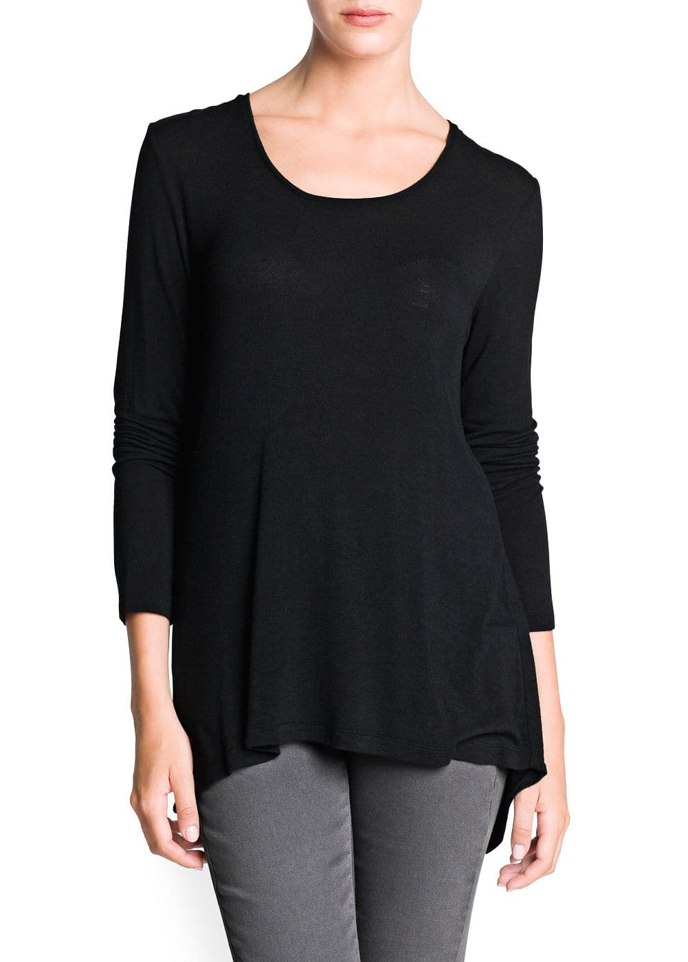 Long sleeve flowy t-shirt