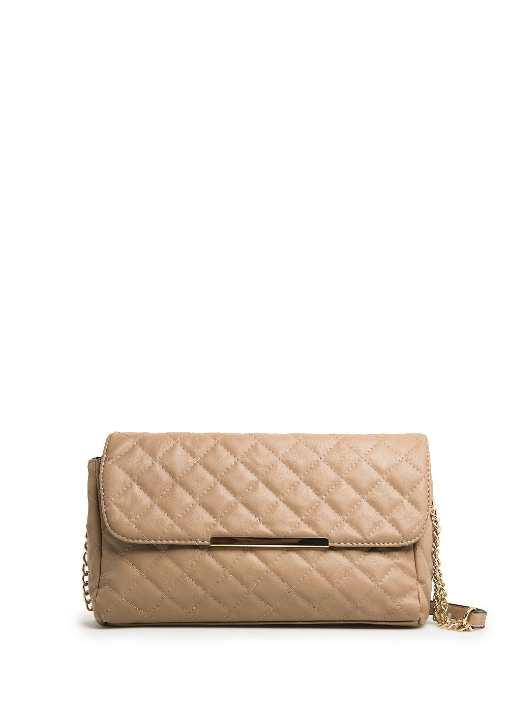 METAL DETAIL QUILTED BAG