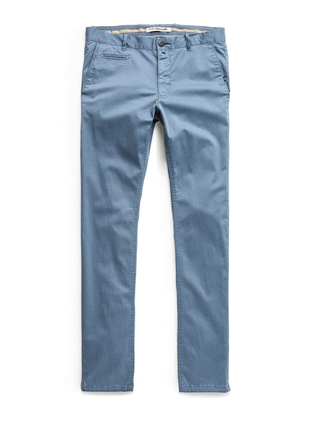 Chino slim-fit coton