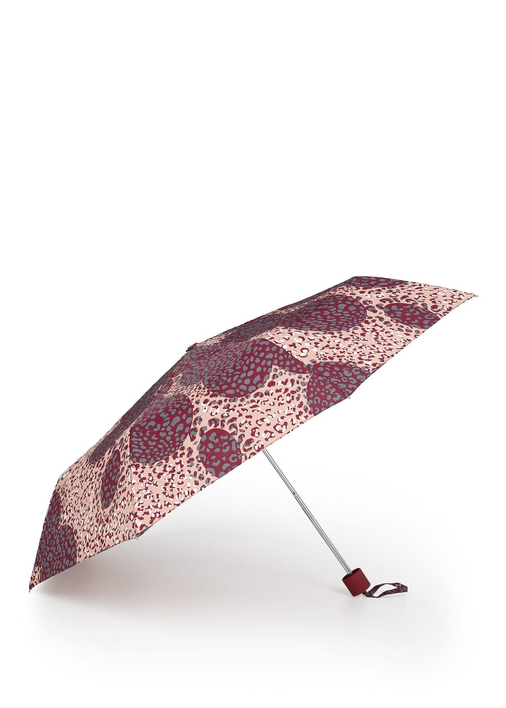 Multicolor animal print umbrella
