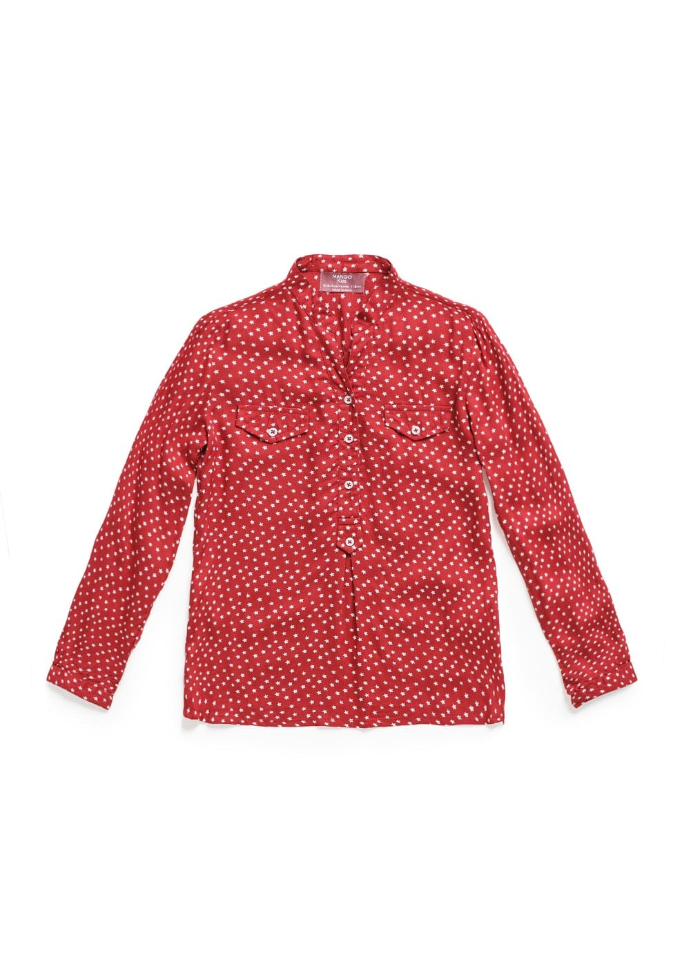 Star print shirt | MANGO KIDS