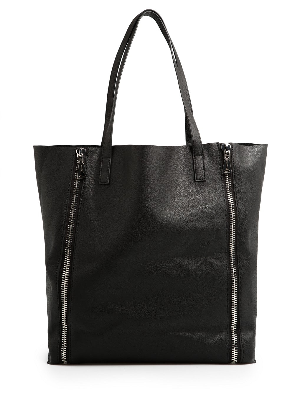 Zip shopper bag