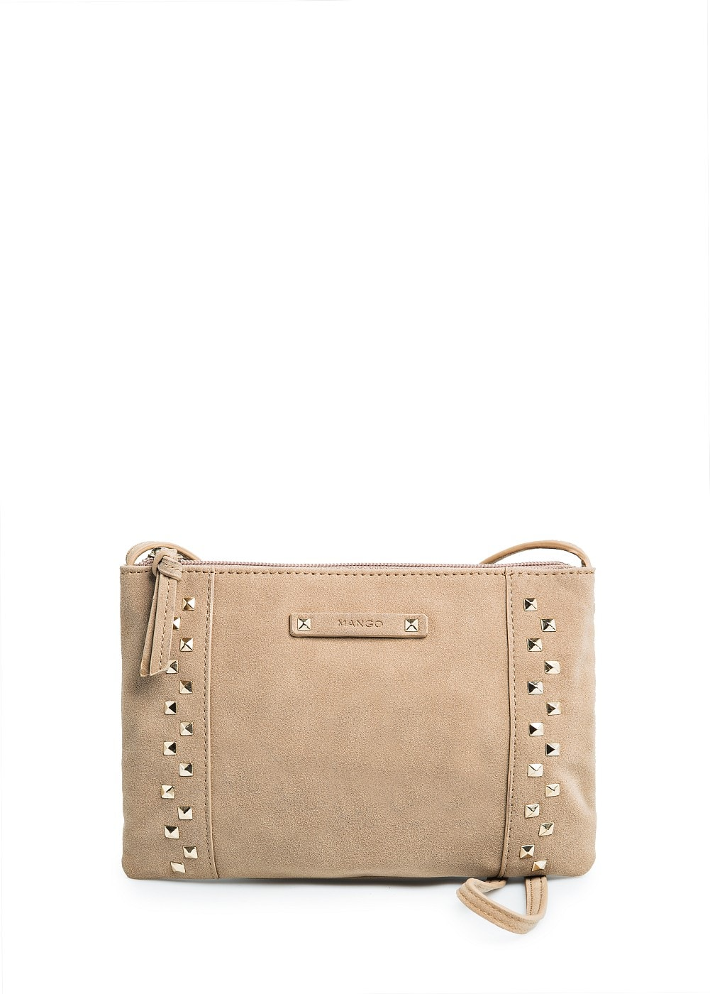 STUDDED MINI SHOULDER BAG