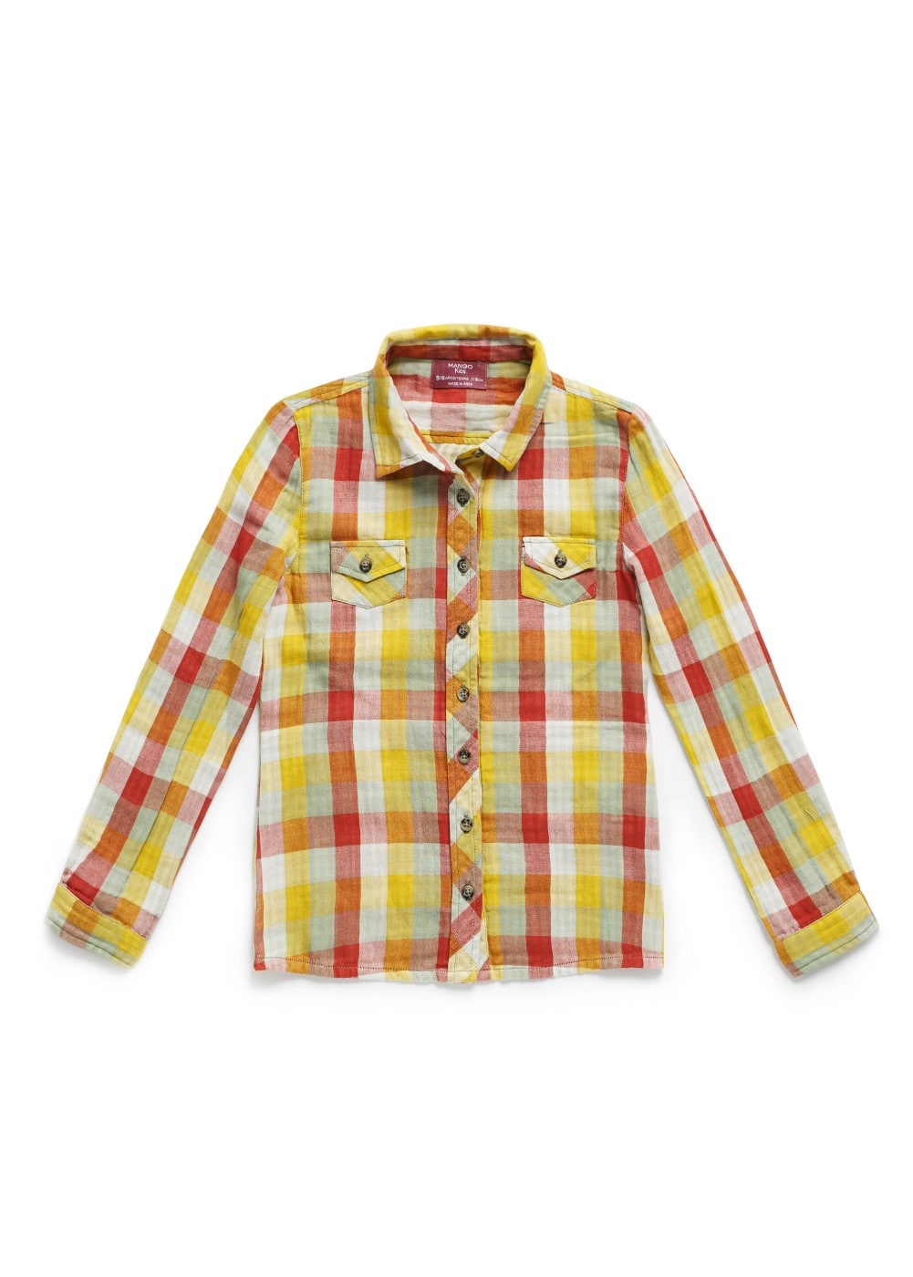 Check shirt | MANGO KIDS
