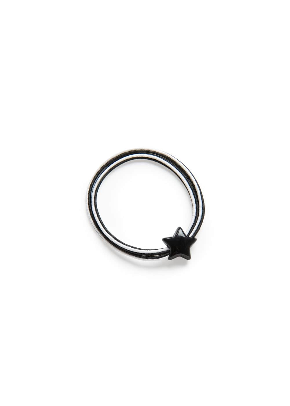 Star double hair tie